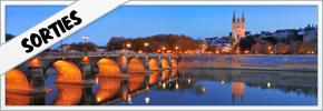 liste des sorties sur Angers