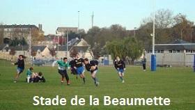 Stade du Rugby SCO de la beaumette Angers