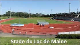 Stade du Lac de Maine à Angers