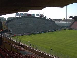 tribunes colombier stade jean bouin à Angers