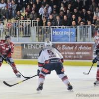 Match des Ducs d'Angers à la patinoire du Haras