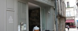 """L'entrée du Salo de Thé """"My Favourite Place"""" situé au coeur de la ville d'Angers"""
