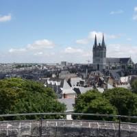 Angers, ville de charme et d'histoire.