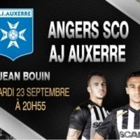 Angers SCO contre l'AJ Auxerre