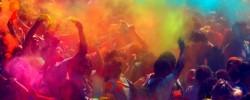 The Color of Time - festival de couleur aux Accroche-coeurs d'Angers