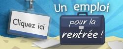 Logo de l'opération Un emploi pour la rentrée à Angers