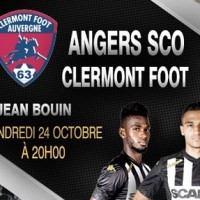 Angers sco contre Clermont Foot