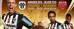 Angers SCO contre Dijon en Ligue 2