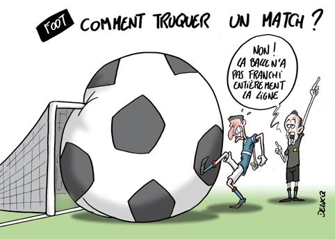 match truqué Angers SCO et le Nîmes Olympique