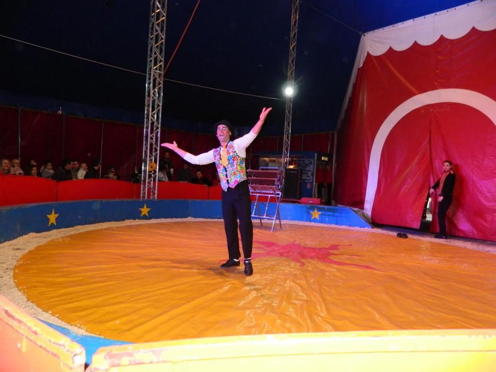 Le Clown Pablito du cirque Fratellini en représentation !