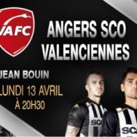 Angers SCO contre Valenciennes en Ligue 2 ce soir