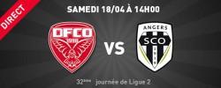 Angers sco contre le Dijon FCO ce samedi 18 avril