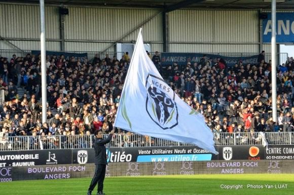 Angers SCO contre le Nîmes Olympique