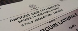 Billet Angers SCO - FC Nantes