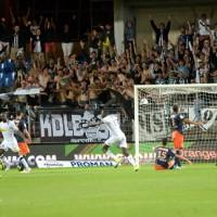 But de Gilles Sunu pour Angers SCO contre Montpellier