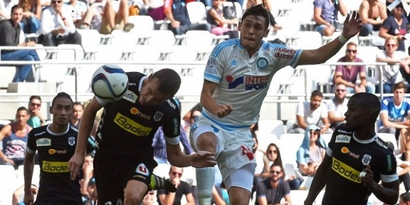 Angers SCO contre l'OM