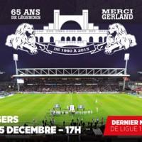 OL - SCO, dernier match au stade Gerland