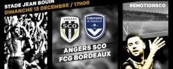 Affiche de la rencontre Angers SCO - Girondins de Bordeaux