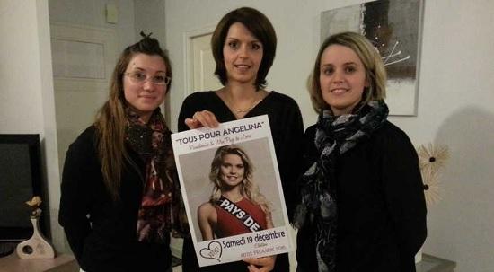 Les amis et la grande sœur d'Angelina Laurent