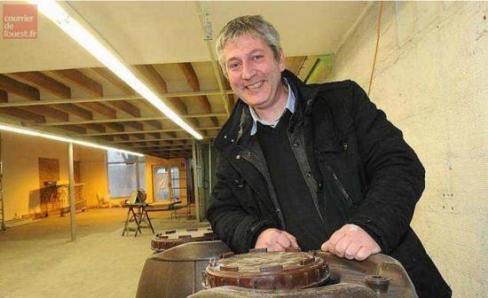 Benoit Durand, gérant de Brasserie Angevine