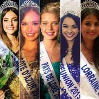Les candidates à Miss France 2016