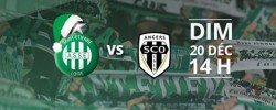Le SCO d'Angers affronte les Verts de l'AS Saint Etienne