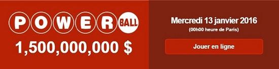 jouer au Powerball pour ce tirage d'1,4 milliard de dollars