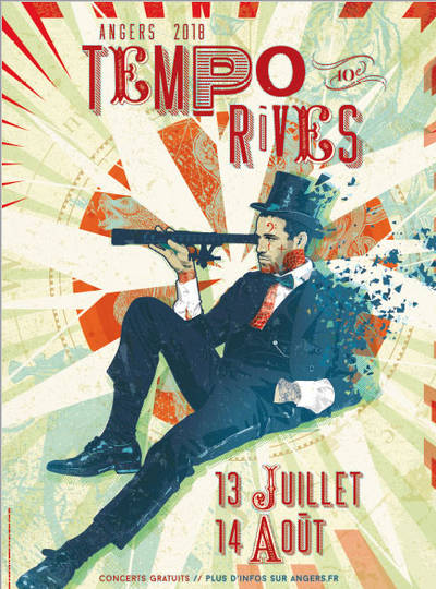 L'affiche officielle du festival Tempo Rives 2018